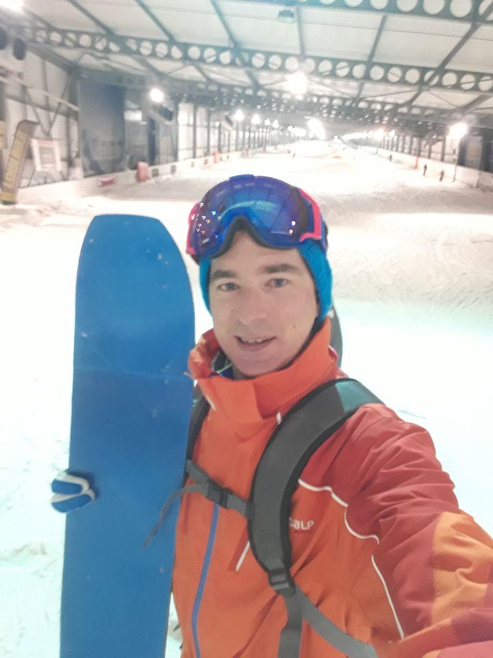 Monoski indoor Snowhall Amnéville Retroriding | Silicone One