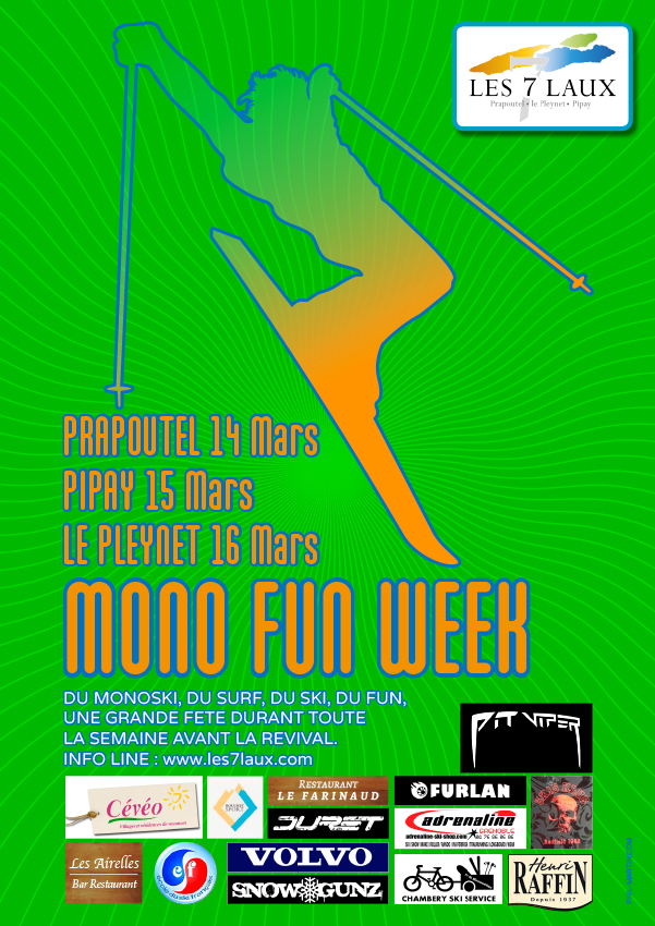 Affiche Mono Fun Week 2018